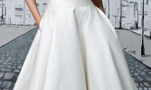 22 Elegant Knee Length Wedding Dresses with Sleeves