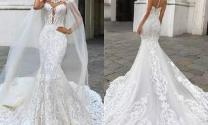 22 Unique Lace and Sheer Wedding Dresses