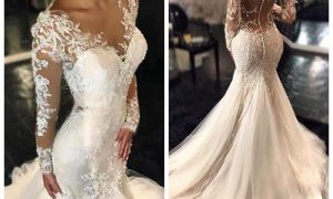 22 Awesome Lace Applique Wedding Dresses