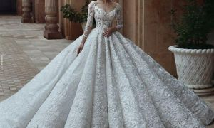 23 Inspirational Lace Ball Gown Wedding Dresses