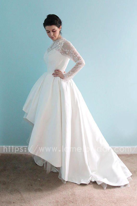medium length wedding dresses lovely long sleeve white lace dress mid length long back short front long