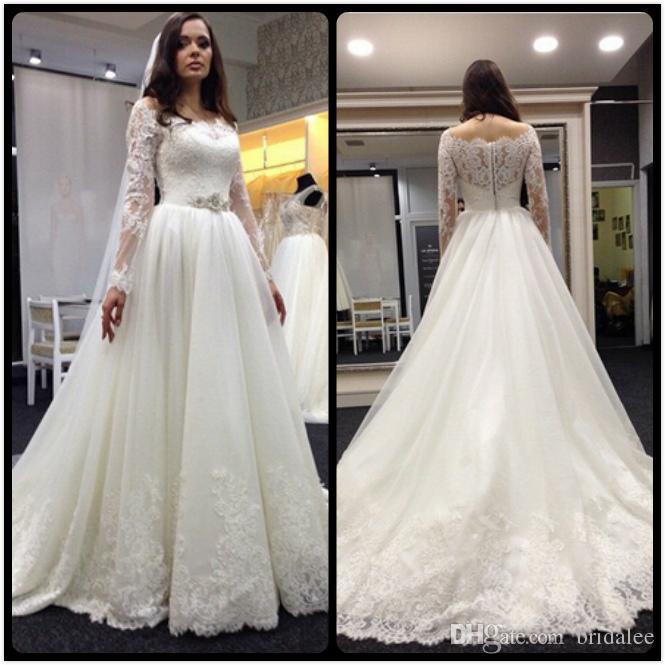 vestido de noiva 2016 couture vintage lace