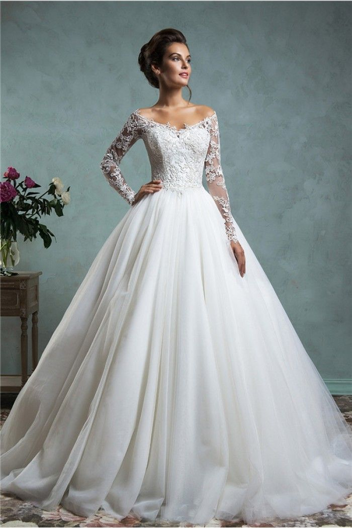 Lace Dresses for Wedding Beautiful Lace Wedding Gown with Sleeves New Extravagant Gown Wedding