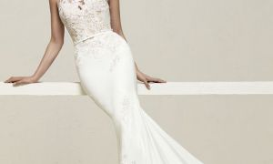 21 Luxury Lace Illusion Wedding Dresses