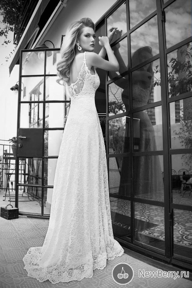 Lace Sweetheart Wedding Dresses Elegant Low Back Wedding Gown Best Yw011 A Line Spaghetti Strap