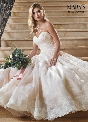 marys bridal mb6055 lace up back quinceanera gown 01 677