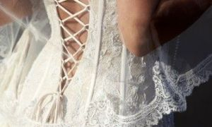 30 Beautiful Lace Up Back Wedding Dresses