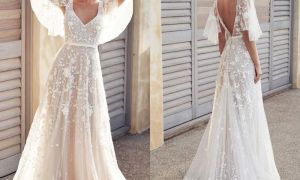 24 Awesome Lace Wedding Dress Cheap