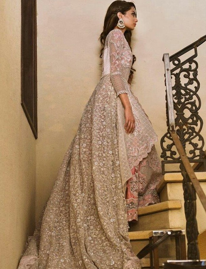 lace wedding gown beautiful indian wedding gown lovely s media cache ak0 pinimg originals 96 0d