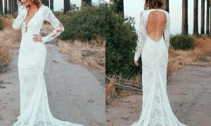 20 Unique Lace Wedding Dresses Under 500