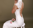 Lace Wedding Dresses with Sleeves and Open Back Inspirational Backless Dress Flirty Glam Bride