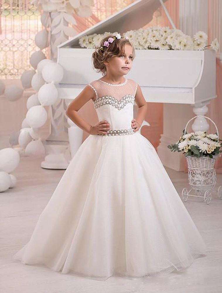 white wedding dresses for kids new white ivory lace wedding prom kids pageant baby