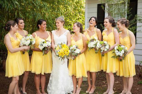 f0530d98c6fc941cfad158b927c53f54 pale yellow bridesmaid dresses design styles