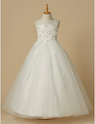 Lightinthebox Wedding Dresses Reviews Fresh A Line Floor Length Flower Girl Dress Satin Tulle