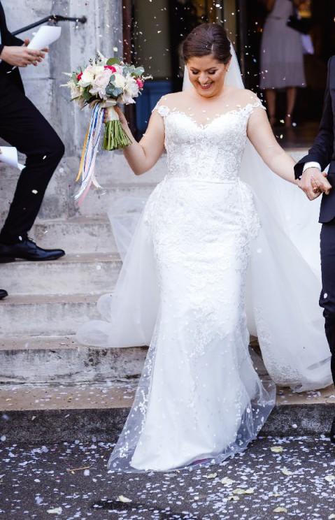 Lightweight Wedding Dresses New Crystal Design Odri Sevilla Collection Wedding Dress Sale F