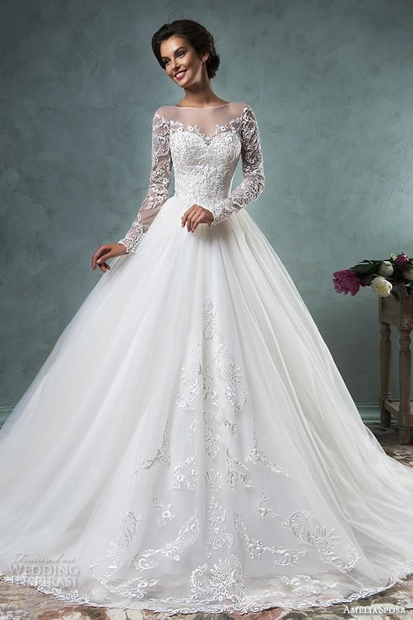 long sleeve ball gown wedding dress photograph amelia sposa wedding dresses beautiful i pinimg 1200x 89 0d 05 890d of long sleeve ball gown wedding dress