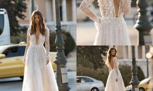 23 Elegant Long Sleeve Casual Wedding Dress
