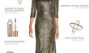 29 Lovely Long Sleeve Dresses for Wedding Guests