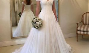 29 New Long Sleeve Illusion Wedding Dress