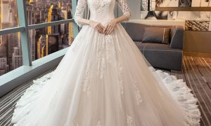 26 New Long Sleeve Winter Wedding Dresses