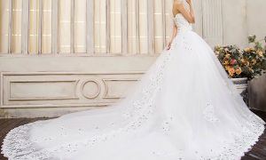 30 Fresh Long Tailed Wedding Dresses