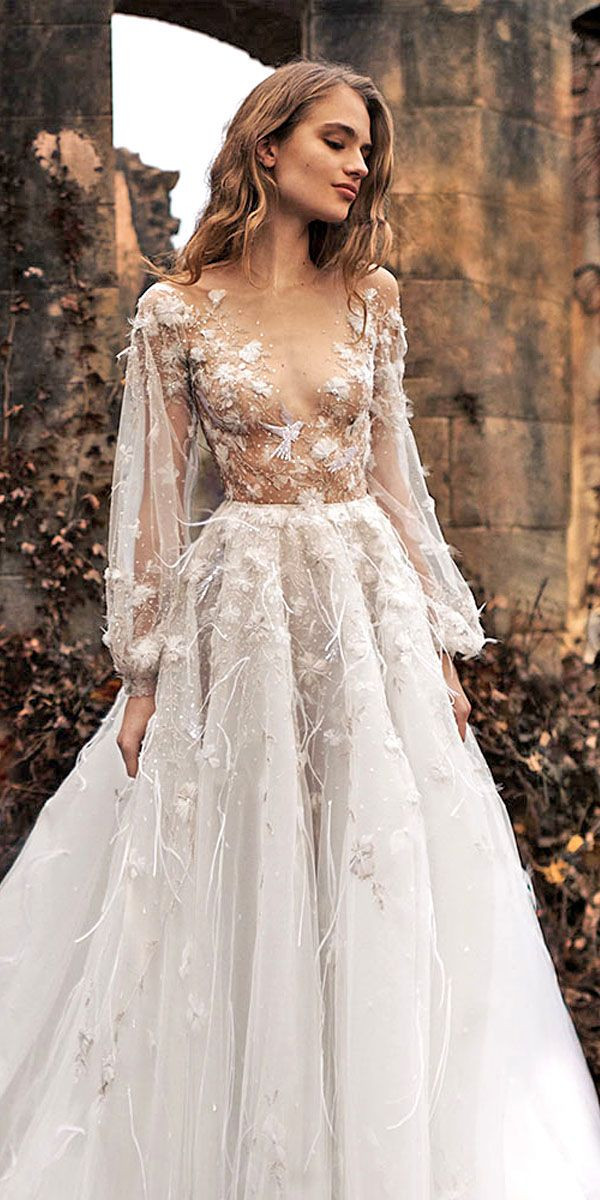a line wedding dresses with sleeves luxury wedding applique marvelous tulle bateau neckline long sleeves a line of a line wedding dresses with sleeves