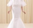 Luulla Wedding Dresses Lovely New Custom Beautiful Lace Flowers Mermaid Wedding Dresses Vestidos De Noiva Robe De Mariage Bridal Gown Cloak Style Bridal Wedding Dress Romantic