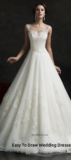 how to make wedding gowns luxury easy to draw wedding dresses i pinimg 1200x 89 0d 05 890d
