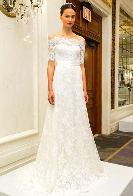 beautiful wedding dresses inspiration a lacy marchesa wedding dress brides