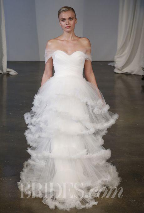 Marchesa Wedding Dress Prices Fresh Marchesa F Shoulder Tulle Ball Gown Wedding Dress Sale