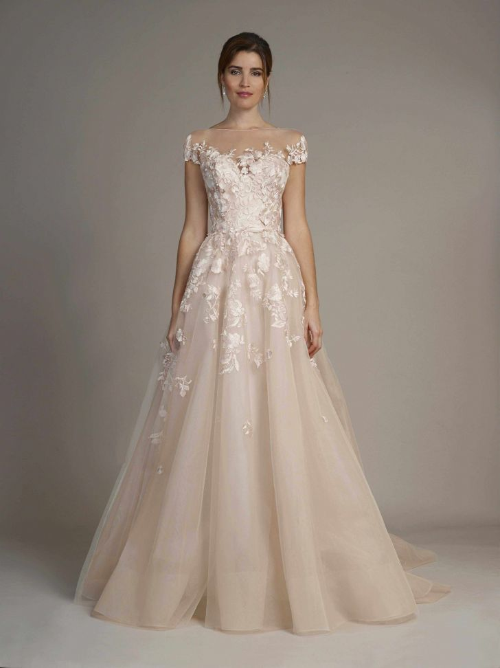 marchesa wedding dress photo about tea length lace wedding dresses cap sleeves lovely pin od 728x972