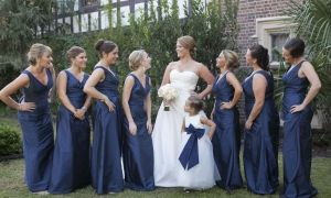 25 Unique Marine Bridesmaid Dress
