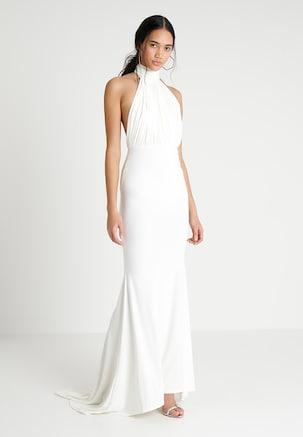Marine Bridesmaid Dress Luxury Missguided Bridesmaid Bardot Lace Detail Fishtail Maxi Dress