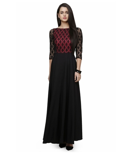designer maroon gown 28long dress 29 500x500