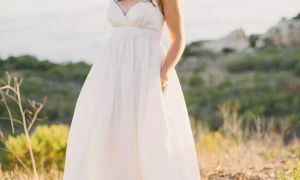 20 New Maternity Beach Wedding Dresses