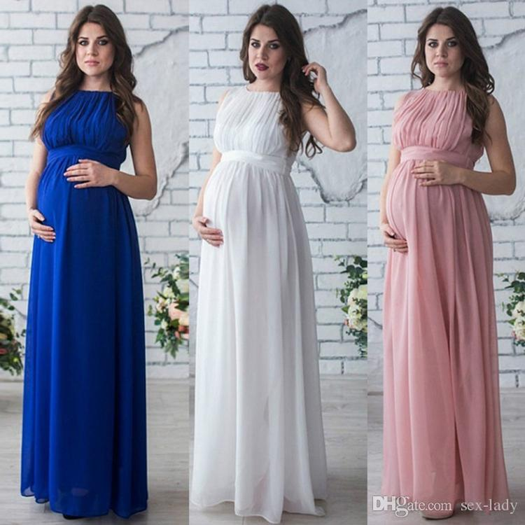 maternity dress pregnancy clothes lady elegant