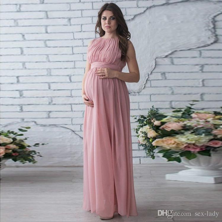 maternity dress pregnancy clothes lady elegant