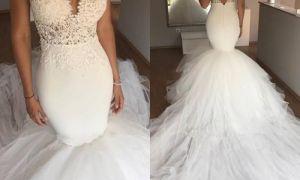 29 Beautiful Mermaids Wedding Dresses