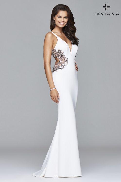 s7916 ivory 2 prom dresses 1
