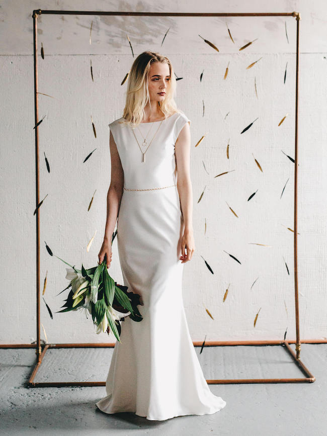 016 20 Elegant Minimalist Wedding Dresses