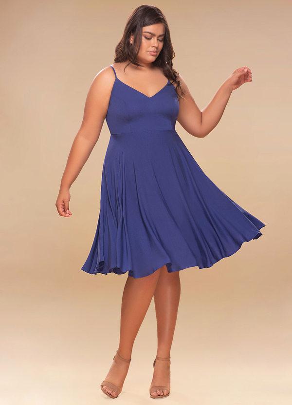 Midi Dresses for Wedding Inspirational Adore Royal Blue Midi Plus Dress Dress