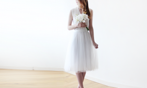 30 Fresh Midi Wedding Dresses