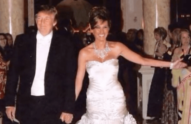 Mikeala Wedding Dresses Awesome Inside Melania and Donald Trump S Extravagant Wedding Plus