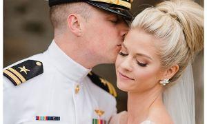 21 Lovely Military Wedding Dresses