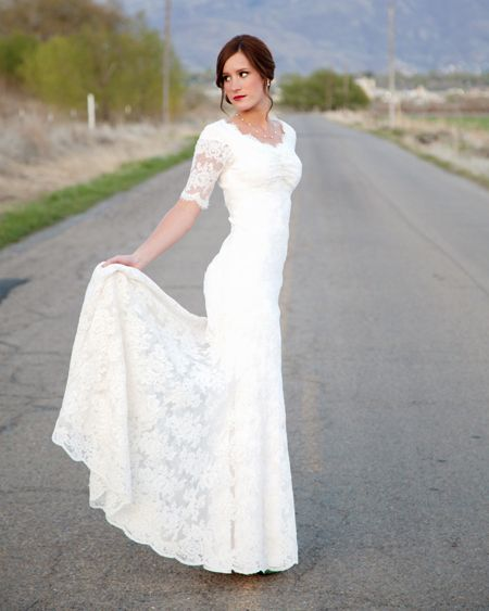 Modest Vintage Wedding Dresses Elegant I M Kinda Loving the Long Lace Sleeves On Wedding Dresses