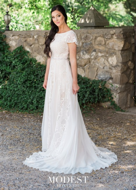 modest bridal by mon cheri tr butterfly sleeve wedding dress 01 565