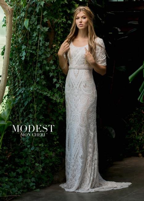 modest bridal by mon cheri tr short sleeve wedding dress 01 273