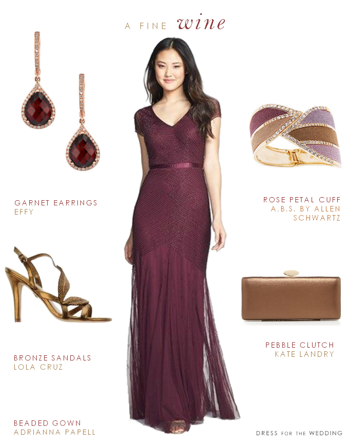 wine colored mother of the bride gown1