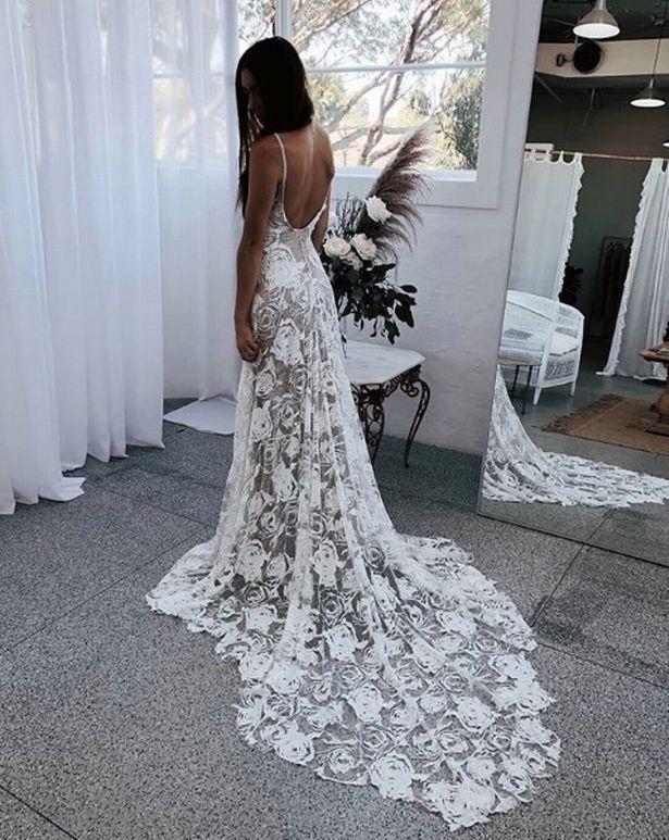 0 Naked wedding dresses big 2019 trend