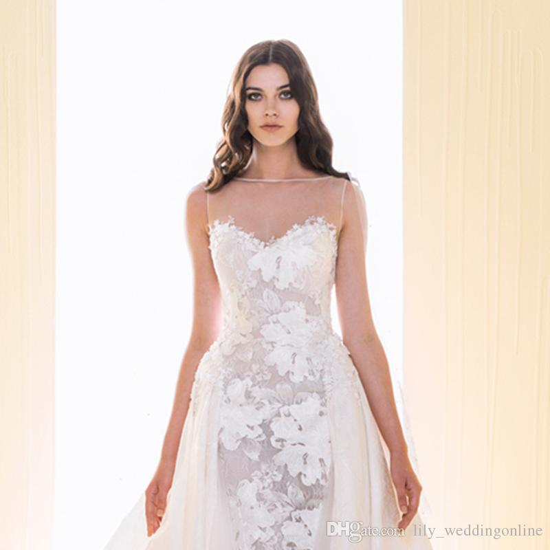 2016 ziad elegant wedding dresses custom